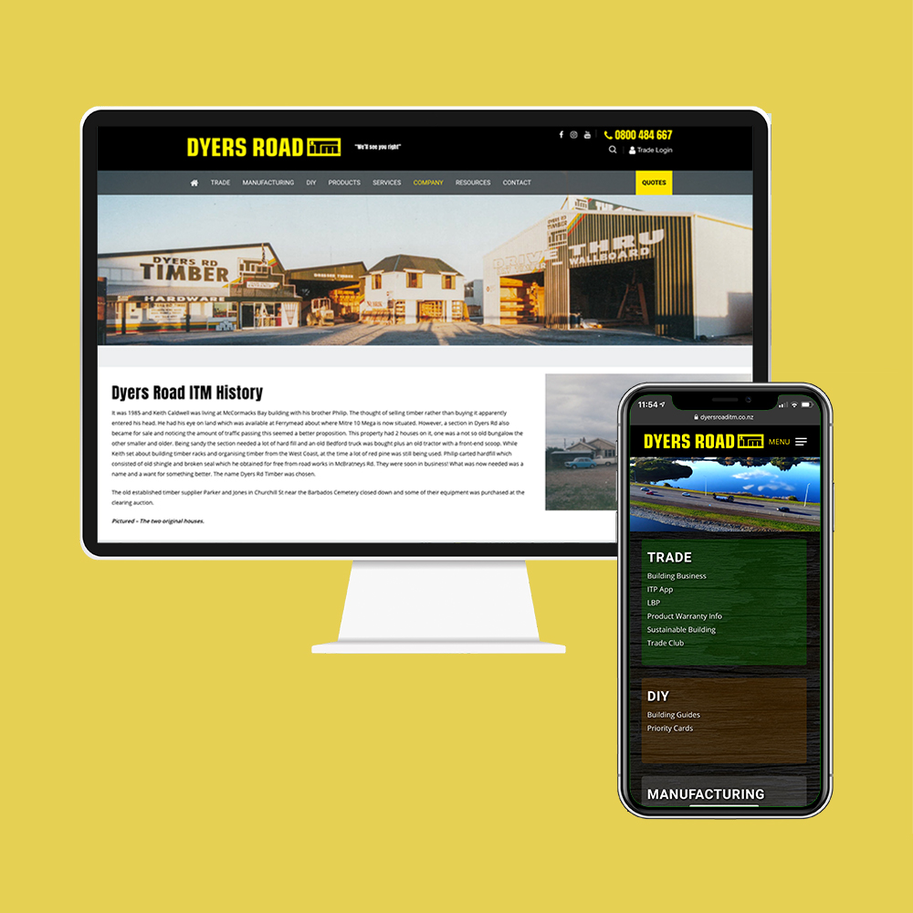 Dyers Road ITM got their website designed and built by MoMac as well as their Search Engine Optimisation