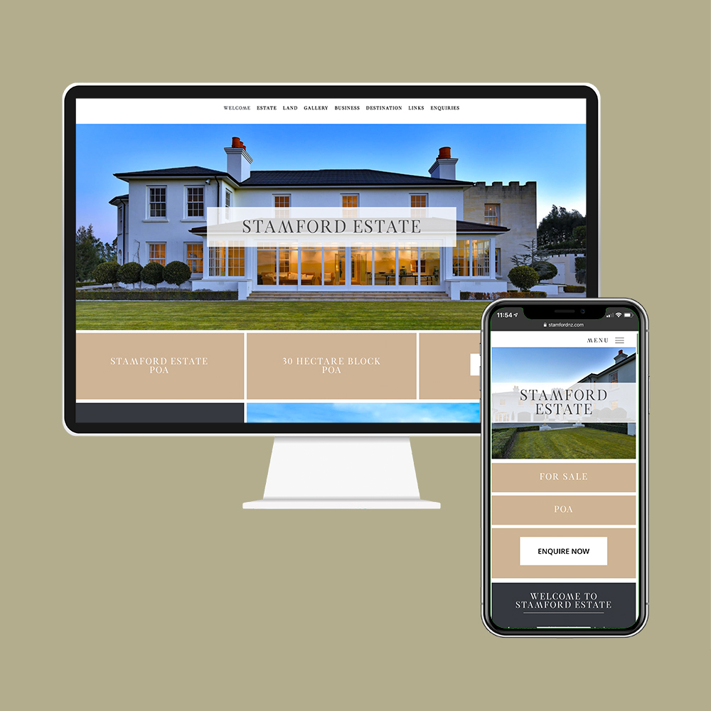 Stamford House had their website, SEO, social media and photography created by MoMac
