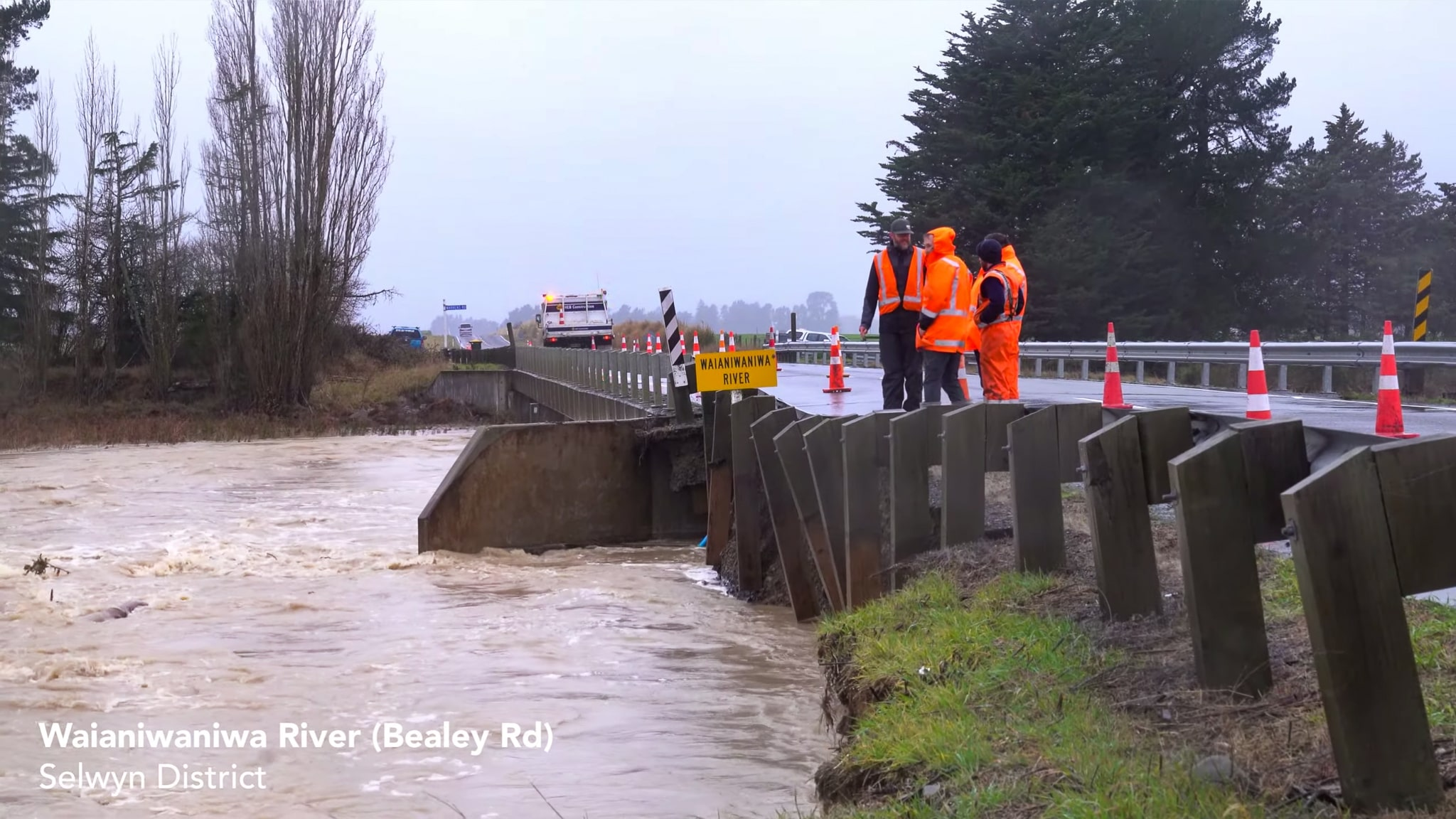 Flooding & Swollen Rivers Around Canterbury – 31 May 2021